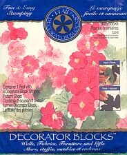 Plaids HOLLYHOCK and ROSE Stamp new in package