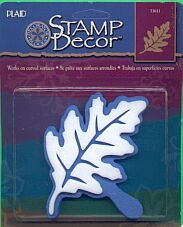 Plaids LARGE OAK LEAF STENCIL new in package