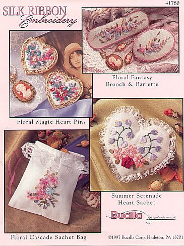 Bucilla 5 Item Embroidery Ribbon Kit w/Hardware needle