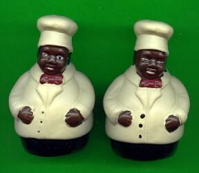 Chef Matched Set of S & P Shakers.