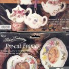 2 Paks Bucilla Embroidery Pre-Cut Teapots or Frames$5.00