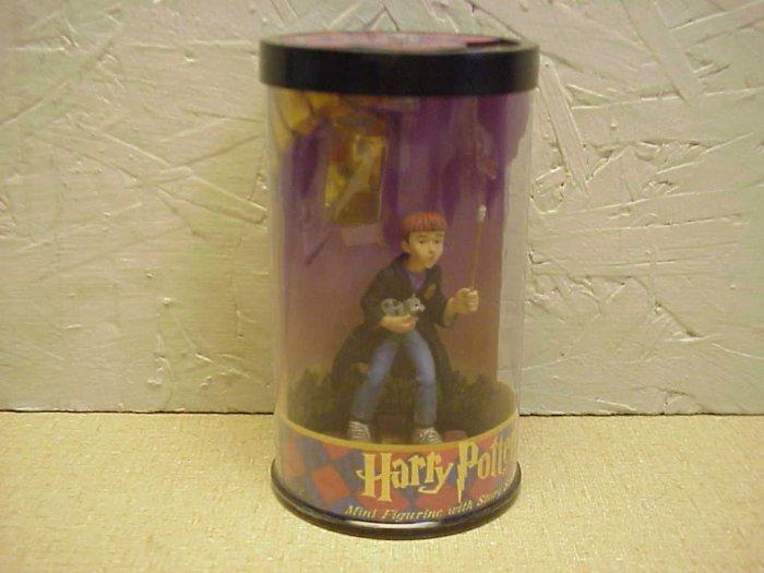 NOS HARRY POTTER Mini Figure w/Story Scope & Stone