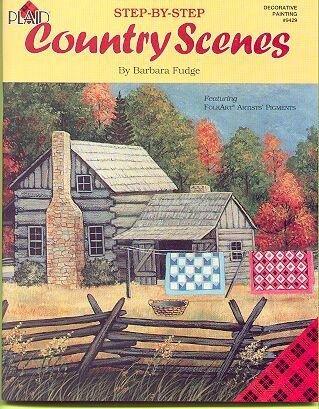 COUNTRY SCENES Booklet by Barbara Fudge