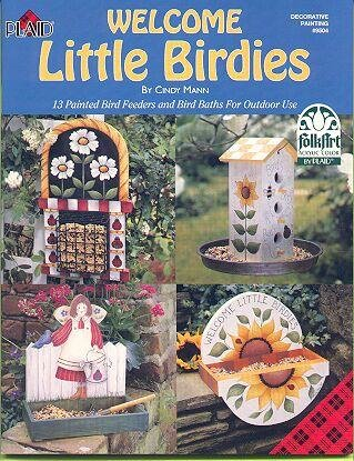 Welcome Little Birdies Booklet by Cindy Mann