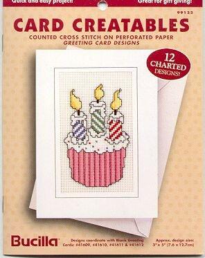 Card Creatables~Cross Stitch~Bucilla