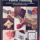 Folk Art FABRIC PAINTING~Illustrated Booklet by Plaid