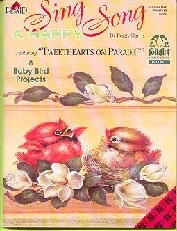 Tweethearts on Parade ~ Paint 8 Baby Birds