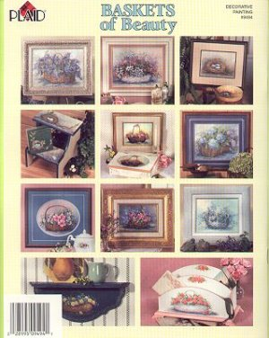 Folk Art BASKETS of BEAUTY Booklet by Plaid