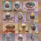 Folk Art 12 Elegant Eggs~Booklet~ by Plaid