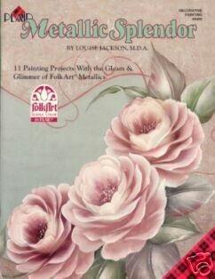 METALLIC SPLENDOR Booklet by Louise Jackson