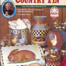 Folk Art COUNTRY TIN~Instruction Booklet by Plaid