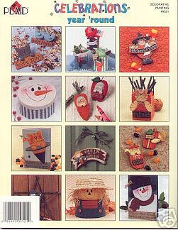 Folk Art CELEBRATIONS Year Round Paint Booklet by Plaid