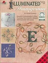 Illuminated Monograms Decorative Painting