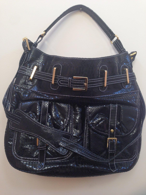 New Black Trendy April Handbag without tags