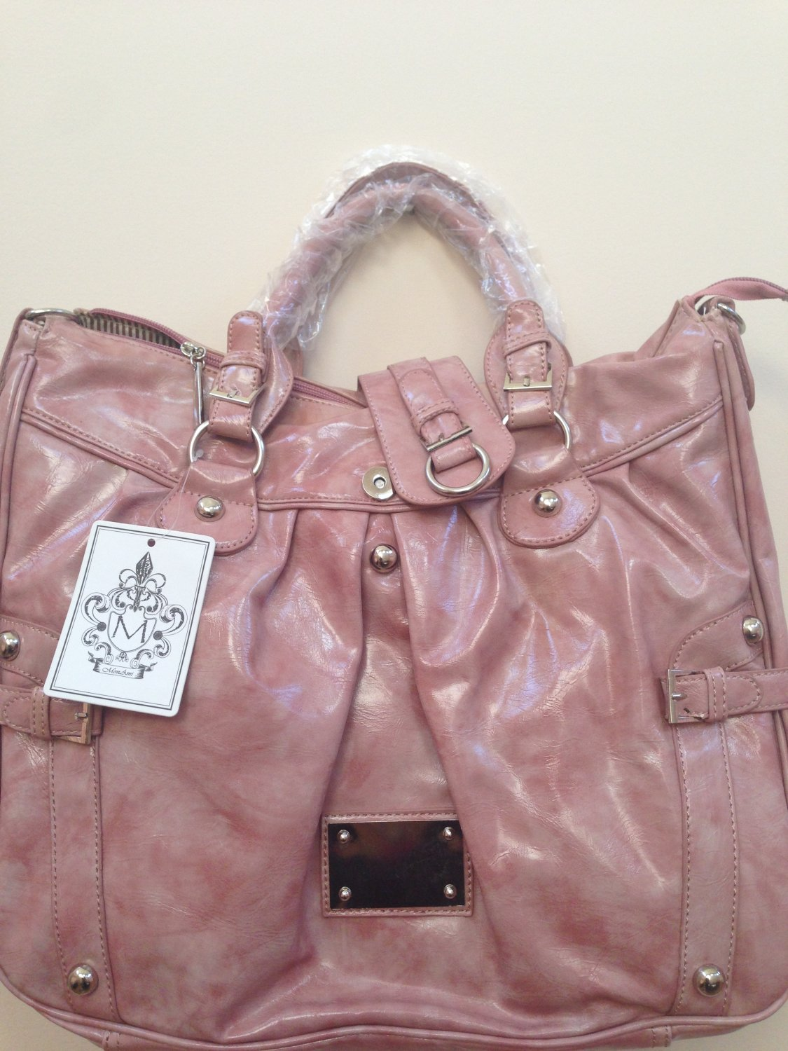 Trendy Myka Mauve Pink Handbag New with Tags