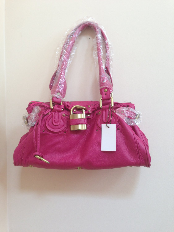 Trendy Fuschia Pink Serena Handbag