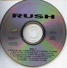Rush Chronicles 2 Disc Set