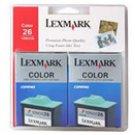 Lexmark 10N0139 Ink Cartridge - 2 Pack