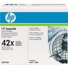 HP 42X High Yield Cartridge Black Dual Pack (Q5942XD)