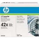 HP 42X High Yield Cartridge Black Dual Pack (Q5942XD)