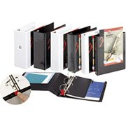 "5"" Cardinal® EasyOpen® ClearVue� Binders with Locking D-Rings"