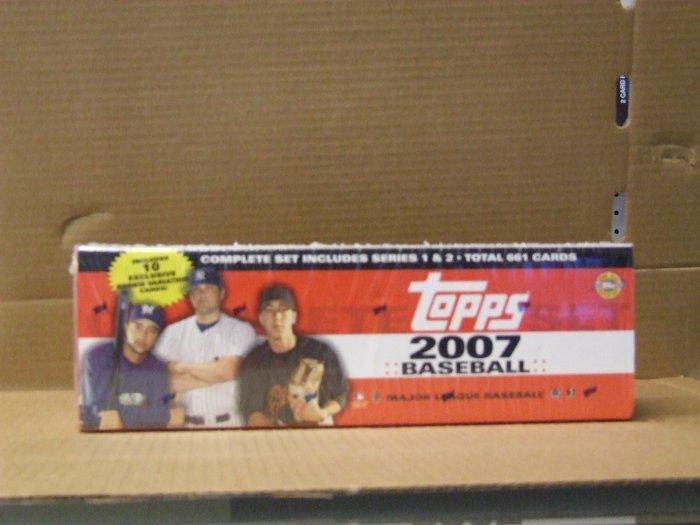 Topps 2007 Baseball Set
