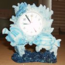 Ashley Belle Tropical Fish Alarm Quartz Clock