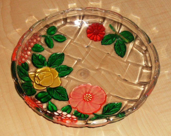 Flowered Candy Dish