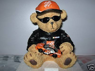 Tony Stewart Nascar Resin Bear