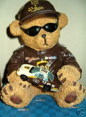 Dale Jarrett Nascar Resin Bear