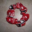 Chicago Bulls Hair Scrunchies For Ladies/Girls