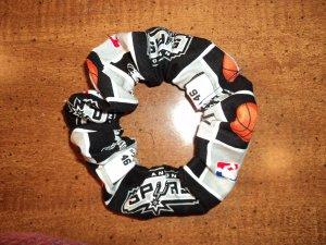 Hair Scrunchie - San Antonio Spurs