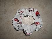 Hair Scrunchie - Arkansas Razorbacks