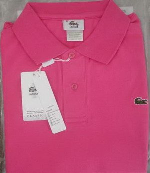 Lacoste Polo - Pink
