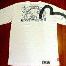Evisu T-Shirt - White (Gul/Evisu Man)