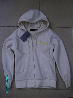 Adidas Jacket - White (Hooded)