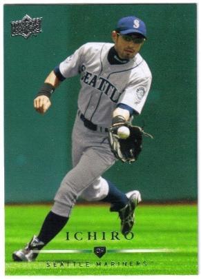 2008 Upper Deck Ichiro (Mariners) #139