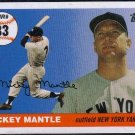 Topps Homerun History Mickey Mantle (Yankees) #MHR398