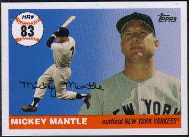 Topps Homerun History Mickey Mantle (Yankees) #MHR528