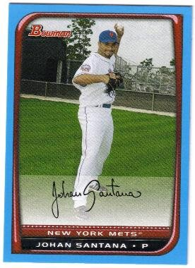 2008 Bowman BLUE Lyle Overbay (Blue Jays) #99 (#'d 312/500)