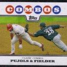 2008 Topps Classic Combos Albert Pujols & Prince Fielder #536