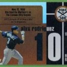 2007 Topps Baseball Road to 500 Alex Rodriguez (Mariners) #ARHR10
