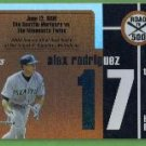 2007 Topps Baseball Road to 500 Alex Rodriguez (Mariners) #ARHR17