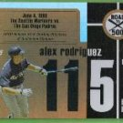 2007 Topps Baseball Road to 500 Alex Rodriguez (Mariners) #ARHR115