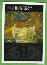 2007 Topps Baseball Homerun History Josh Gibson (Crawfords) HR610 #JG77