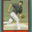 2007 Bowman Baseball Blue Border Carlos Quentin (Diamondbacks) #12 (#'d 214/500)