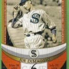2007 Topps Baseball The Streak Before the Streak Joe DiMaggio (Seals) JDSF6