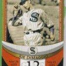2007 Topps Baseball The Streak Before the Streak Joe DiMaggio (Seals) JDSF12