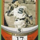 2007 Topps Baseball The Streak Before the Streak Joe DiMaggio (Seals) JDSF17