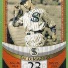 2007 Topps Baseball The Streak Before the Streak Joe DiMaggio (Seals) JDSF23